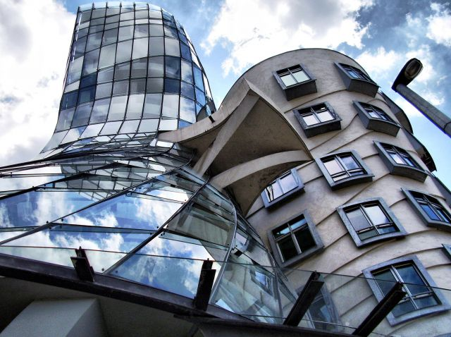 "The Dancing House - ""Fred and Ginger"""