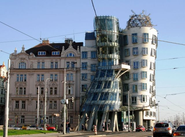 The Dancing House - A controversial buildings