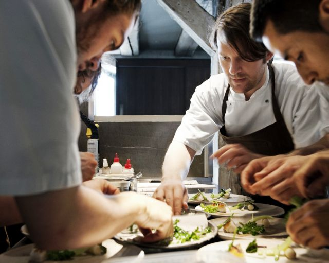 Noma Restaurant - The kitchen