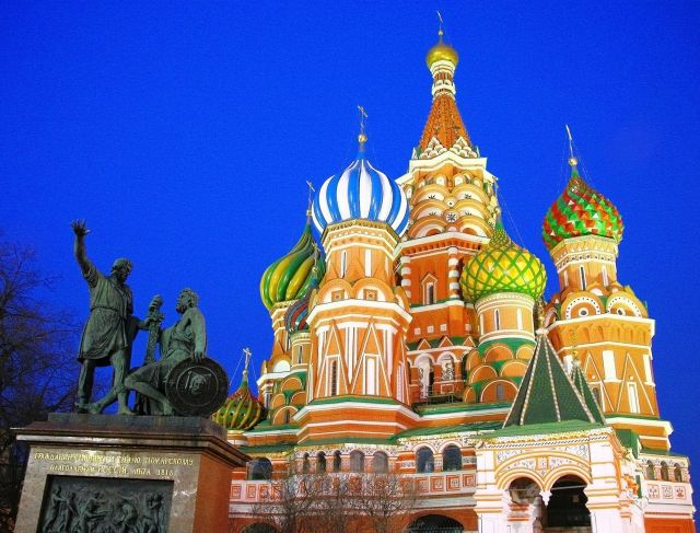 St. Basil's Cathedral - Minin and Pozharsky