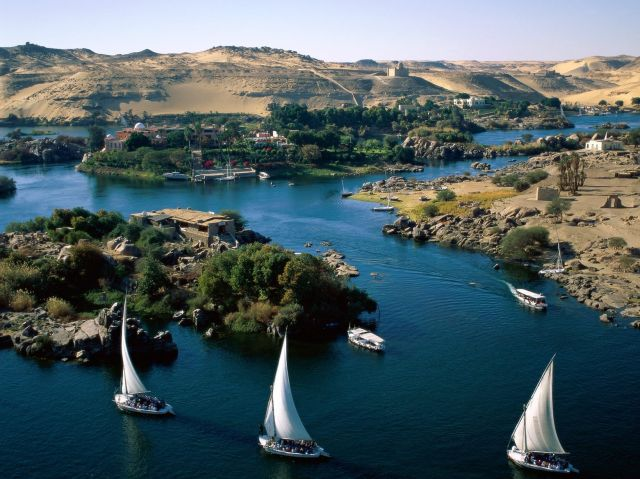 The Nile - Aswan