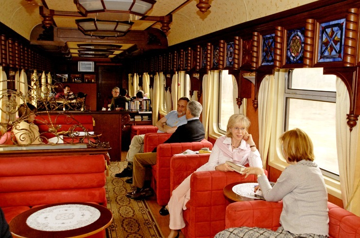 Golden Eagle Trans-Siberian Express - Nice interior