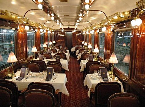 Venice Simplon-Orient-Express - Lovely interior