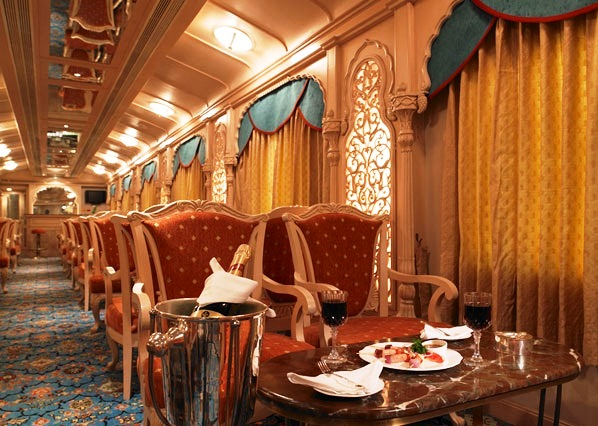 Maharajas' Express - Wonderful interior