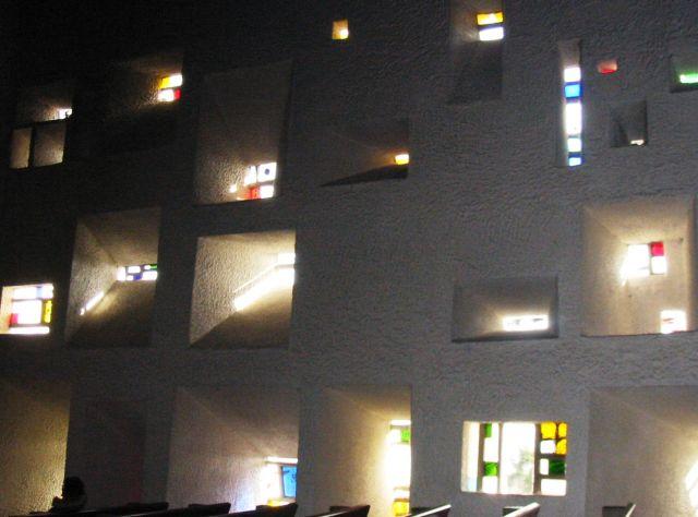 Interior windows architectural - Notre Dame Du Haut The Most Unusual Churches In The World