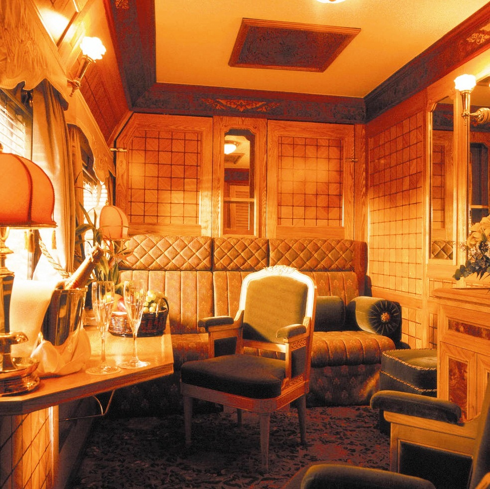 Eastern & Oriental Express - Lovely interior