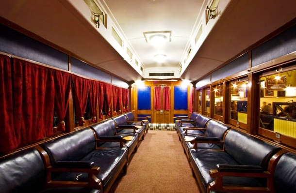 The Blue Train - Luxury interior