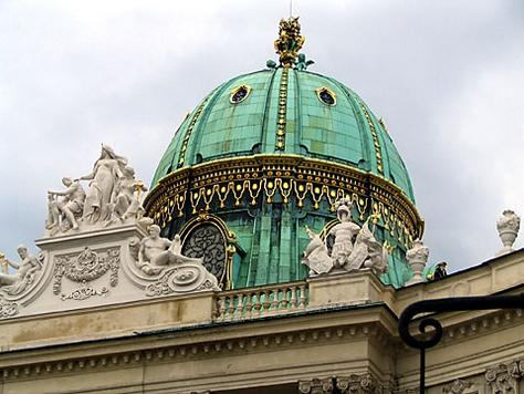 The Hofburg Imperial Palace - Beautiful architecture