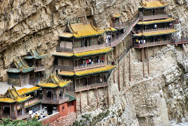 The Hanging Temple - Amazing building