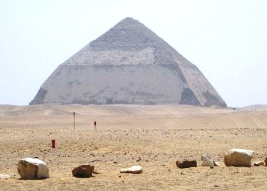 The Bent Pyramid - The Best Pyramids in the World