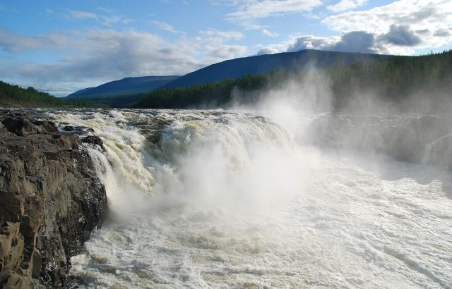The Yenisei River - Kingdom Falls