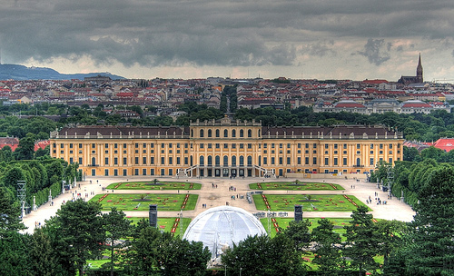 The Schonbrunn Palace - General view