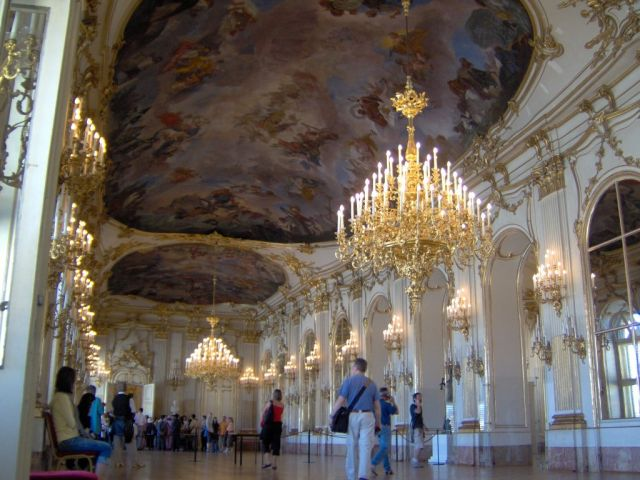 The Schonbrunn Palace - Inside view of Schonbrunn Palace