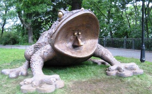 The Toad monument  - Amazing monument