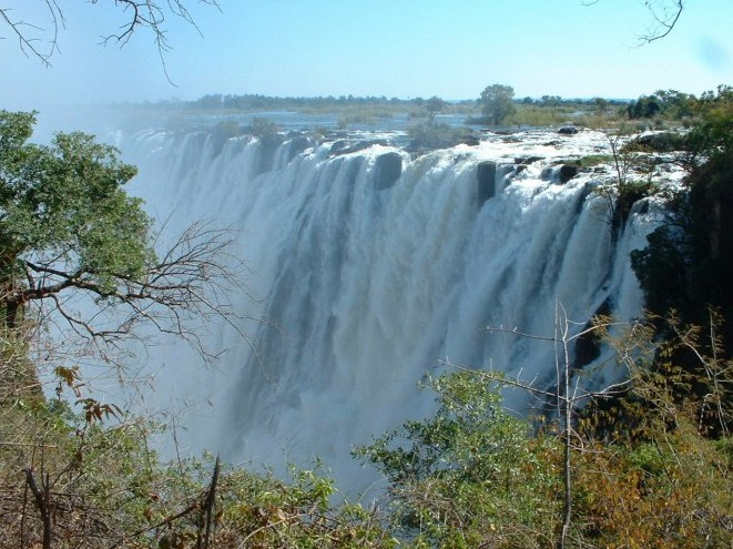The Congo River -  Amazing waterfall