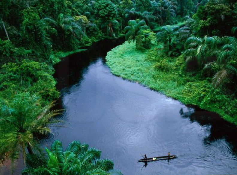 The Congo River - Magnificent river