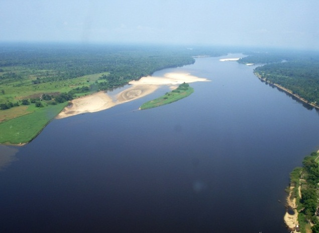 The Congo River - Powerful river