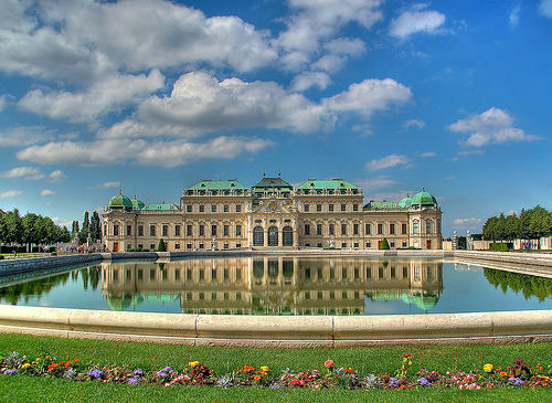 The Belvedere - General view of Belvedere Palace