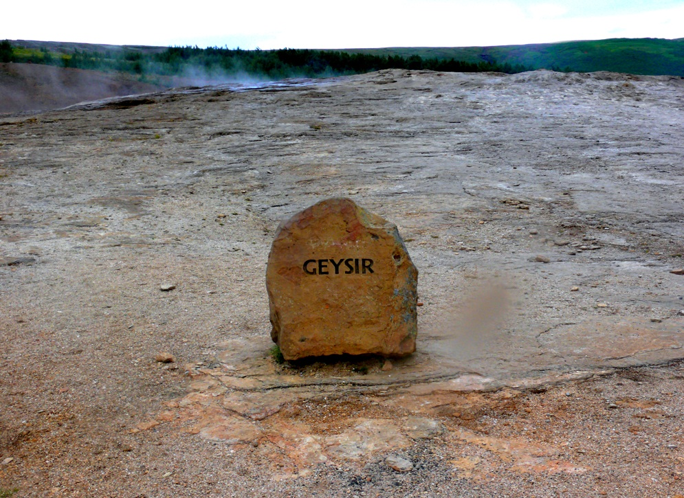 The Old Geysir, Iceland - The oldest geyser in the world