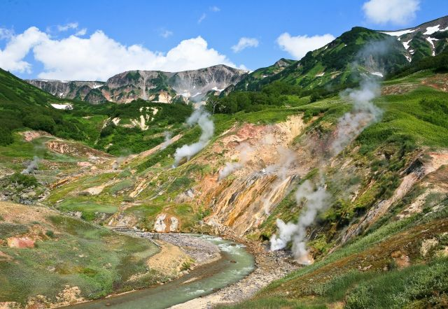 The Valley of Geysers , Kamchatka - The world