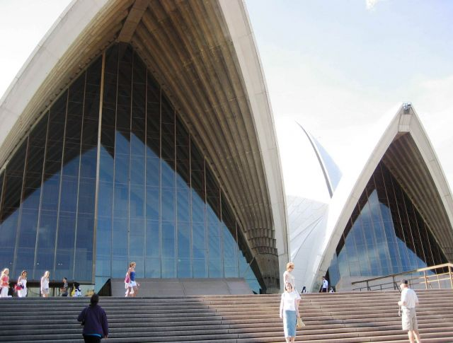 The Sydney Opera House  - The Opera entrance