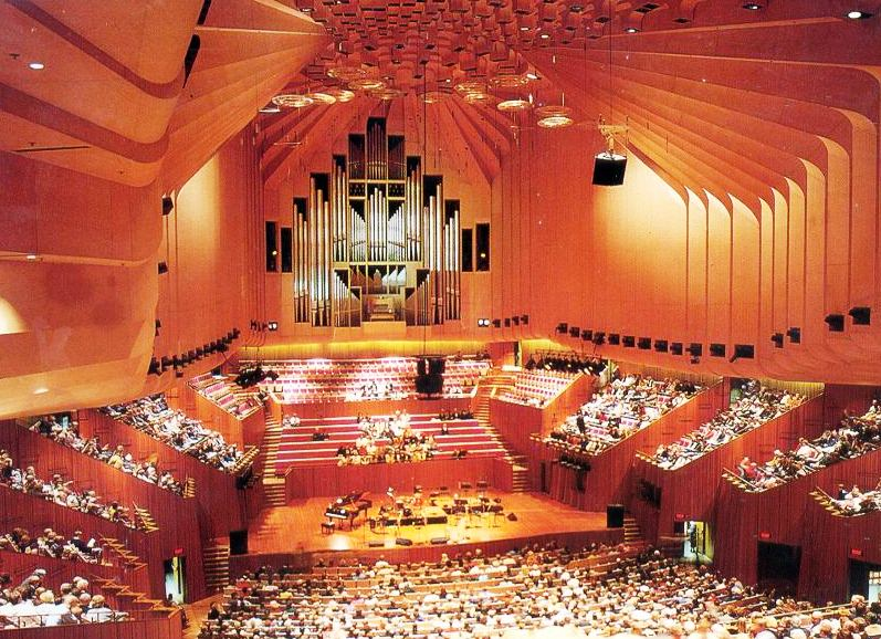The Sydney Opera House  - The Opera inside
