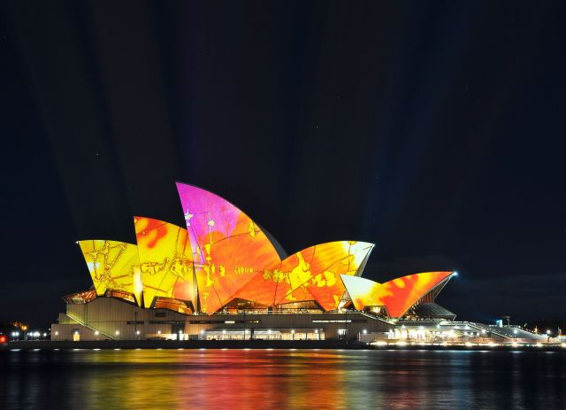 The Sydney Opera House  - The night Opera