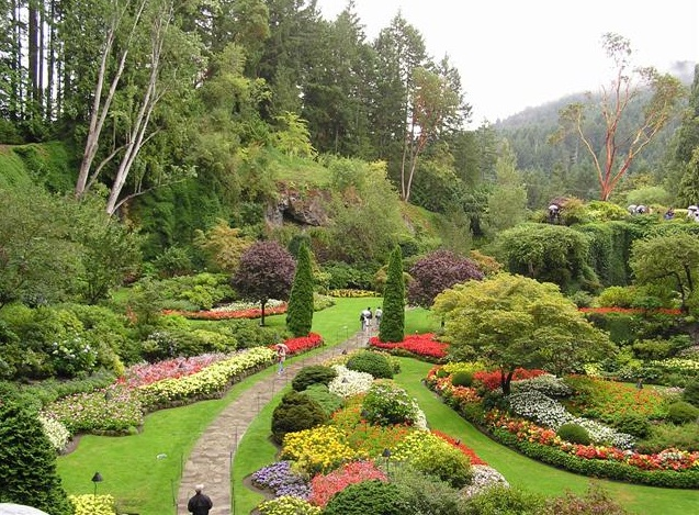 The Butchart Gardens - scenic beauty