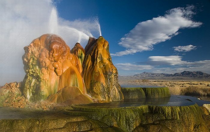The Fly Geyser, Nevada, U.S.A. - Amazing landscape