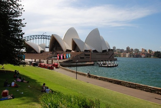 The Royal Botanic Gardens Sydney - Splendid view