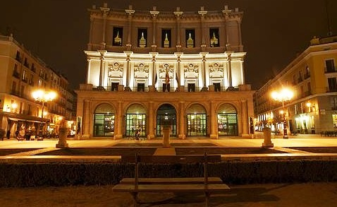 Teatro Real In Madrid - Fantastic structure