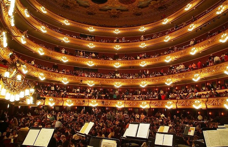 The Great Theatre of Liceo in Barcelona - The Best ...