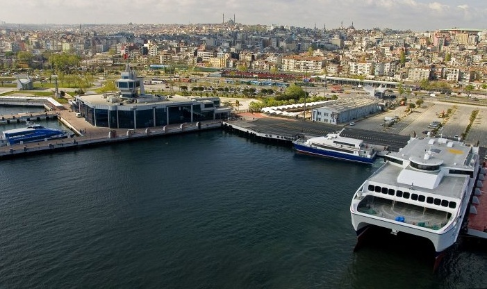 The Marmara Sea - Major port of the sea