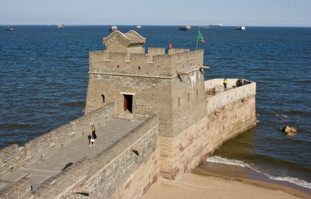 The Yellow Sea - The Great Wall of China and the Sea