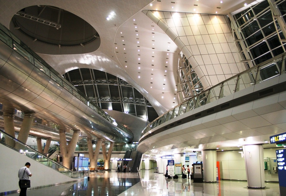 Incheon International Airport - Interior design