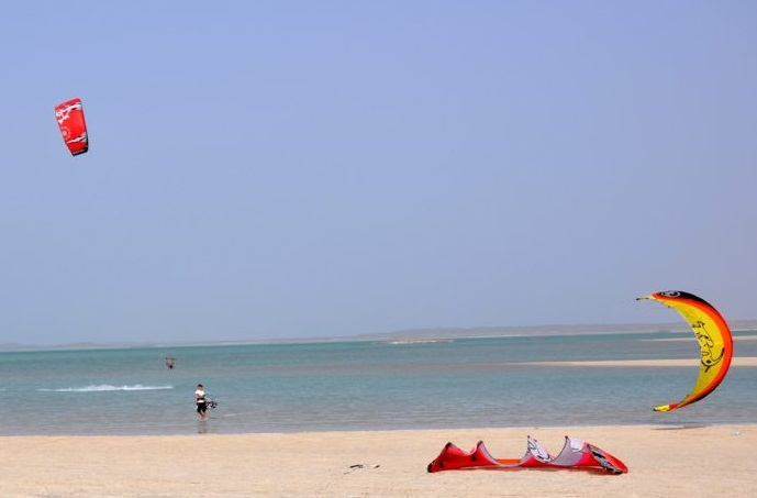 The Arabian Sea - The island of kites