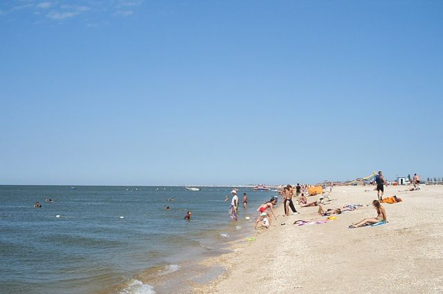 The Azov Sea - Beautiful beach