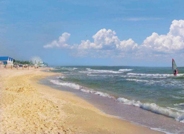фото пляж лиман