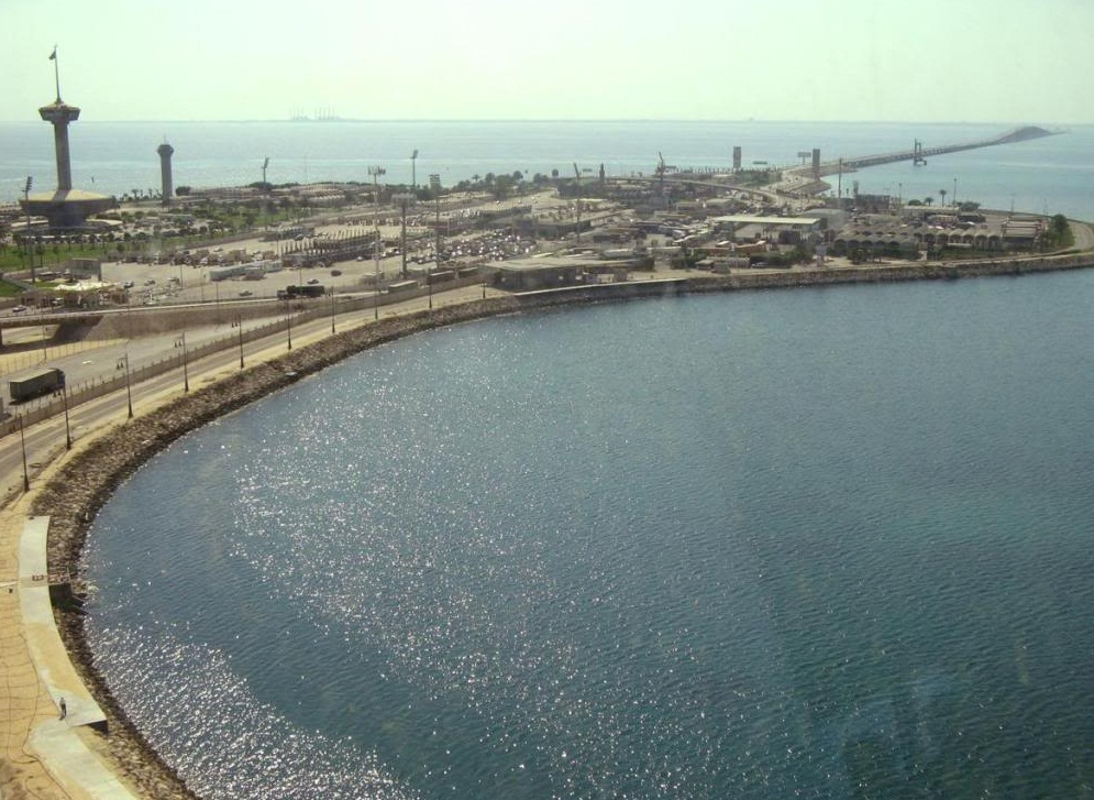 King Fahd Causeway - Panoramic View