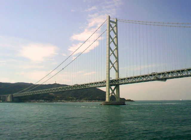 Akashi Kaikyo Bridge - Akashi Kaykyo Bridge in Japan