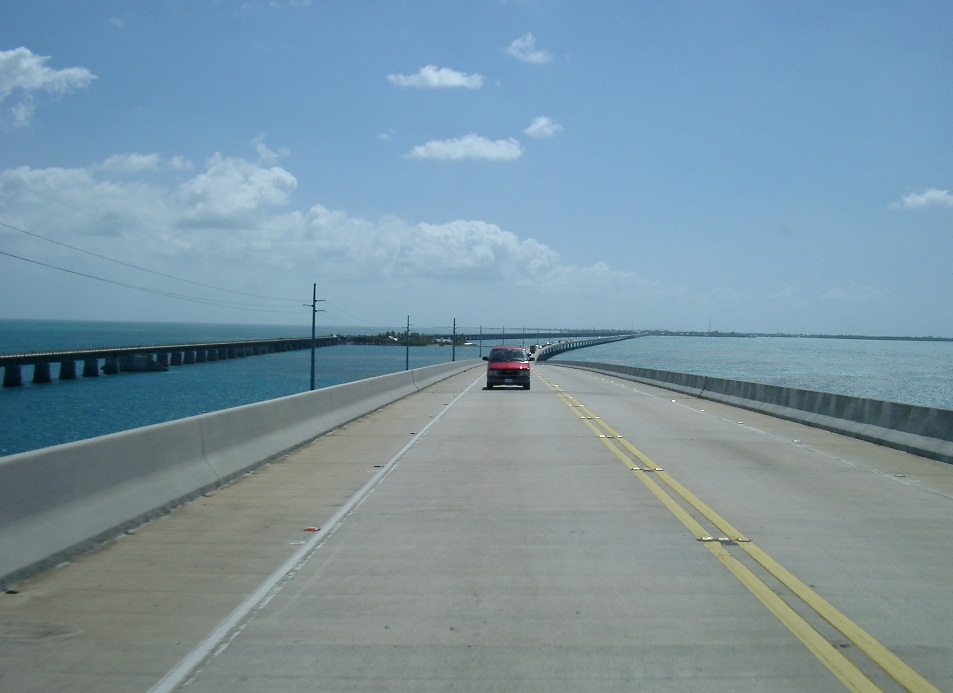 The Seven Mile Bridge - The Road to Key West