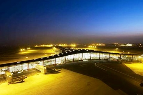Beijing Capital International Airport - Terminal view