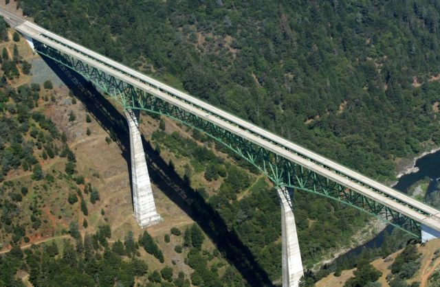 The  Foresthill Bridge  - A Bridge Full of Life