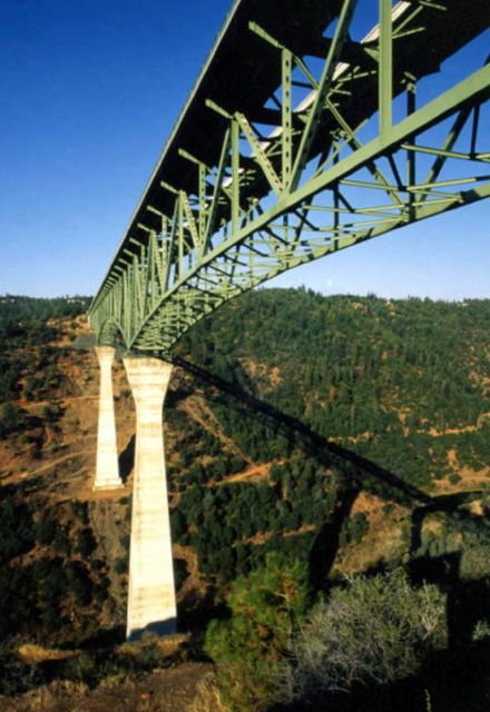 The  Foresthill Bridge  - A Marvelous Bridge