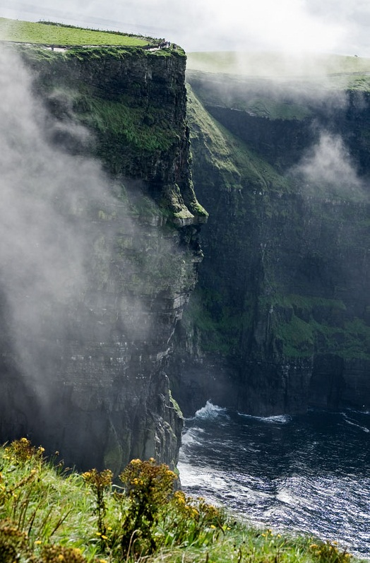 The Cliffs of Moher - Real natural wonder