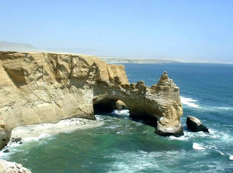 The Paracas Sea Cliffs - Beach destination