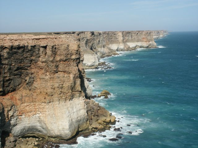 The Bunda Cliffs - Dramatic display