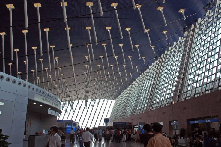 Shanghai Pudong International Airport - Great design