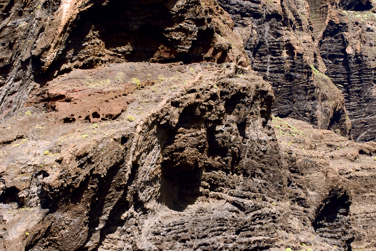Acantilados de Los Gigantes  - Fascinating rocks