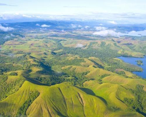 Papua new guinea rugged terrain images